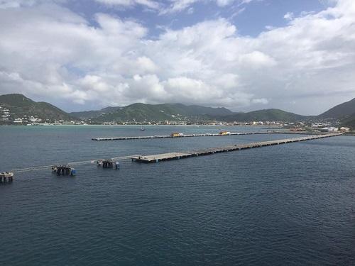 St Maarten arrival
