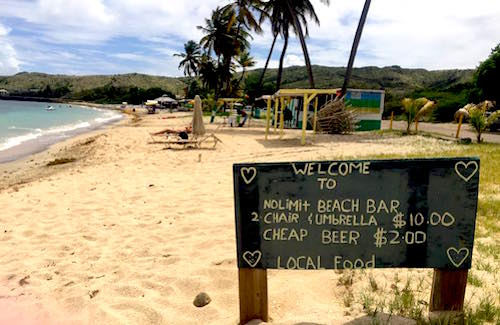 St Kitts No Limit Beach Bar