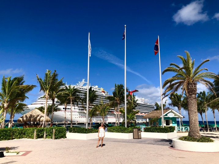 The Grand Turk Cruise Port is right on Governor's Beach