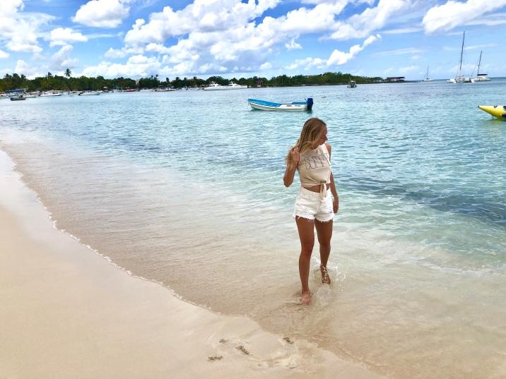 Typical beautiful Caribbean beach!