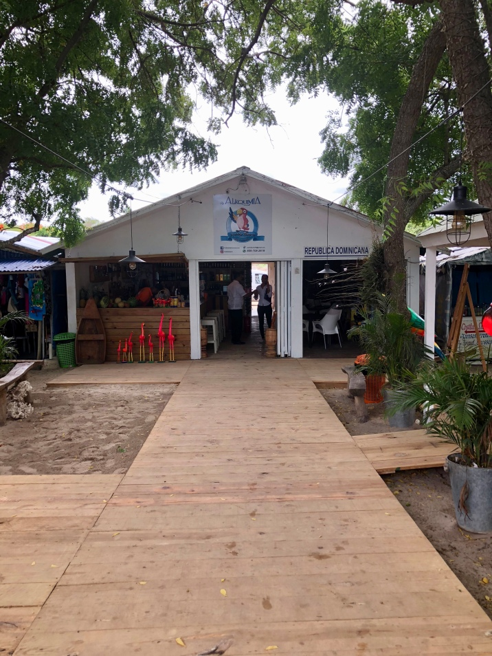 One of the little bars at Playa Bayahibe.