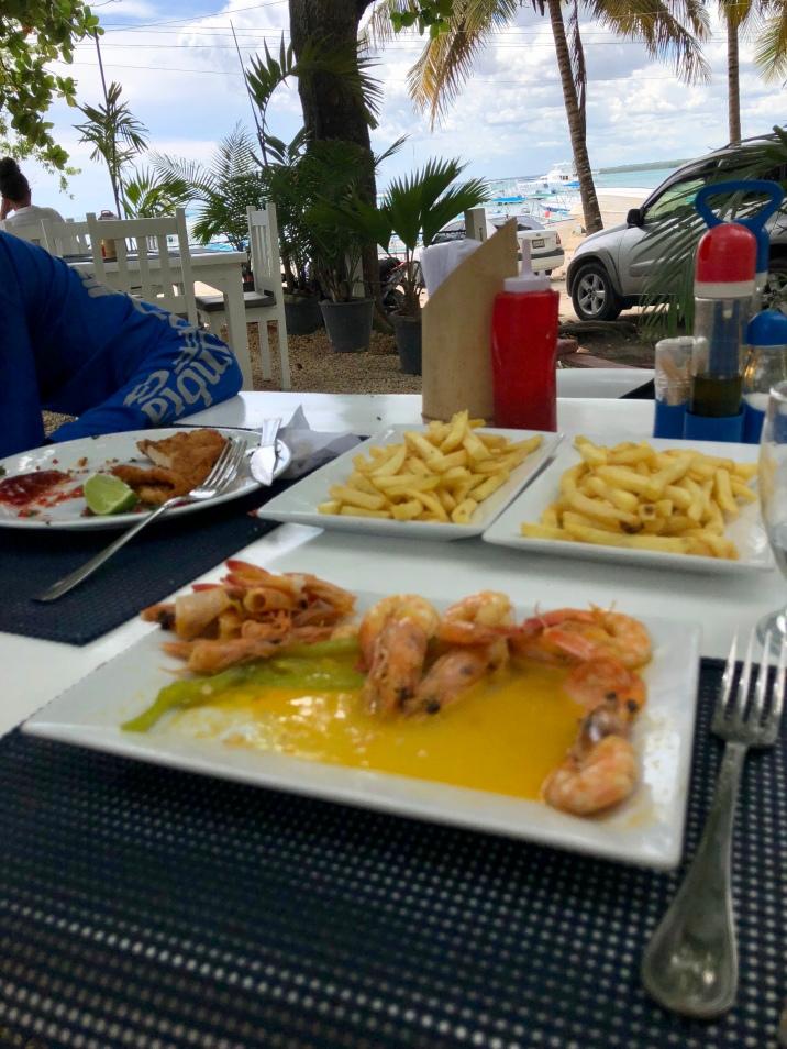 Delicious food from El Dorado.