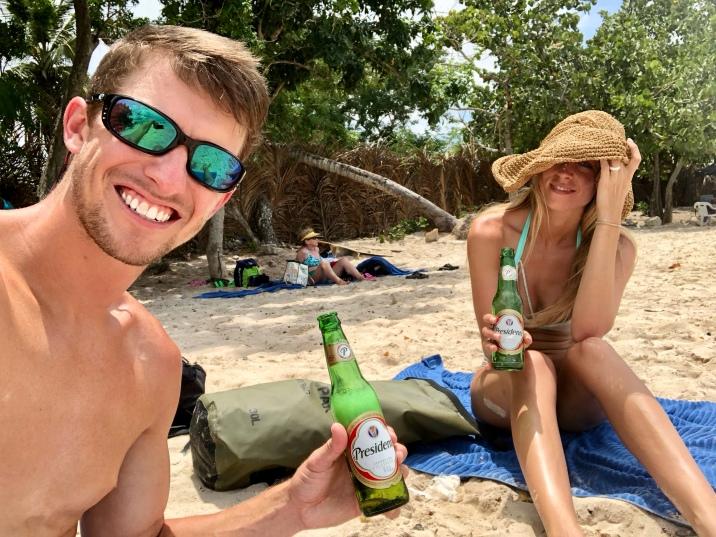 Basically all we did at Playa Bayahibe!